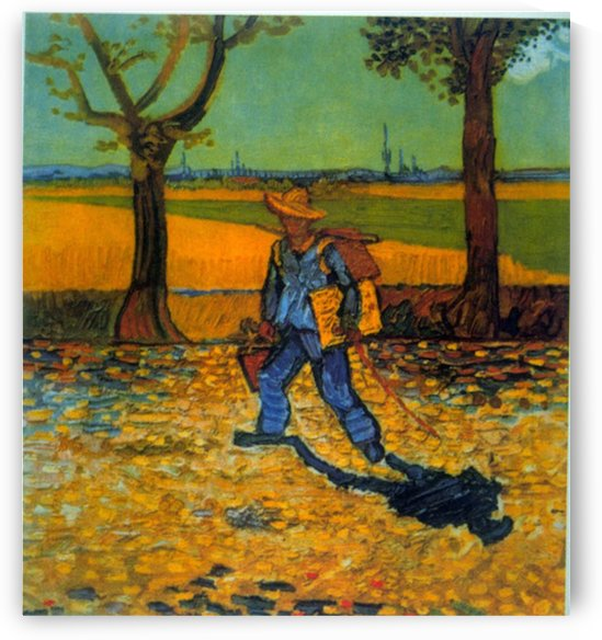 painter by Van Gogh by Van Gogh