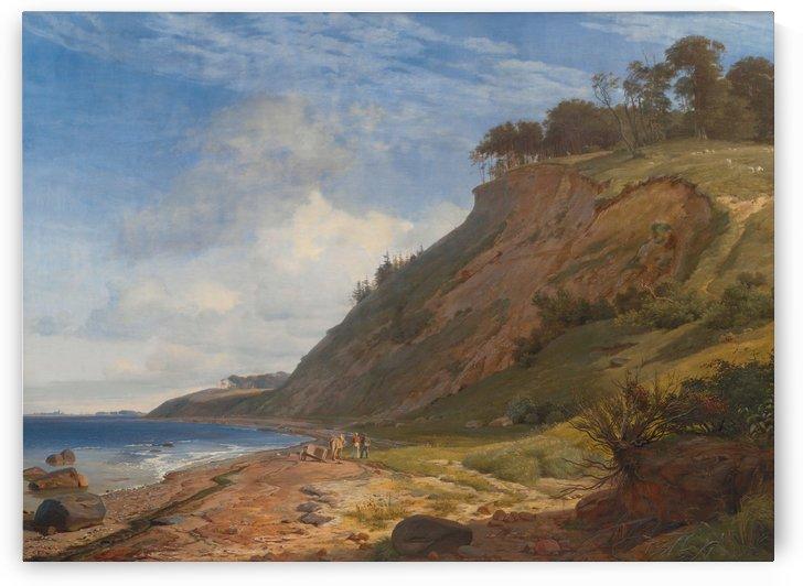 A Danish Coast by Johan Thomas Lundbye