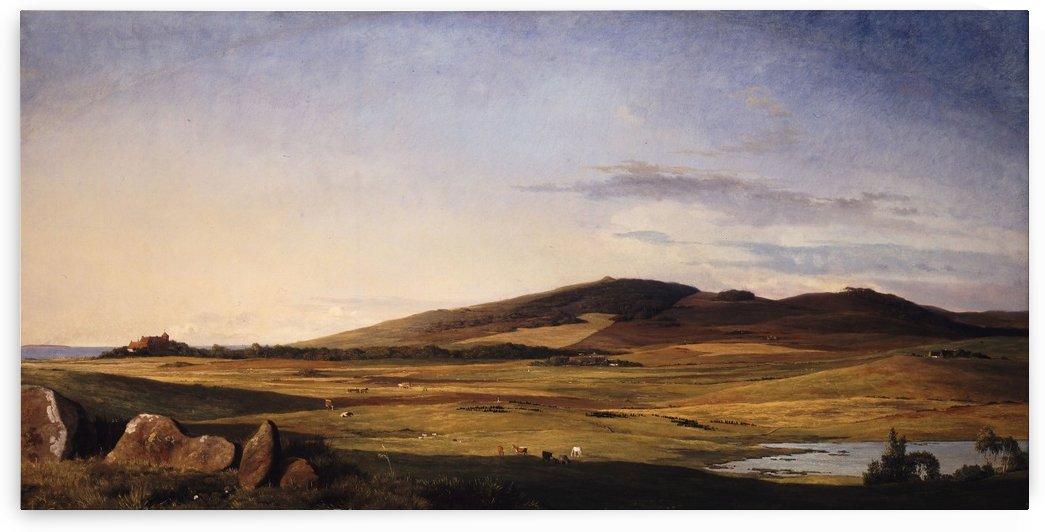 Zealand Landscape by Johan Thomas Lundbye