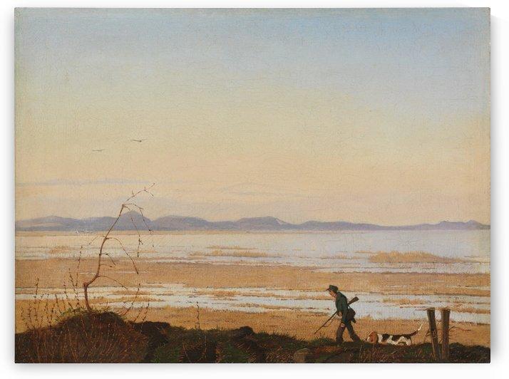 An Evening beside Lake Arreso by Johan Thomas Lundbye