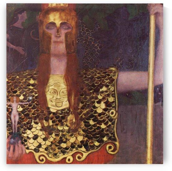 Pallas Athena by Klimt by Klimt