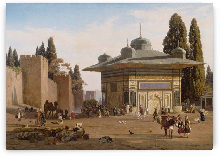 Konstantinople by Martinus Christian Wesseltoft Rorbye