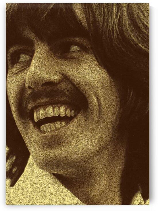 George Harrison Guitarist of the Beatles 5 by RANGGA OZI