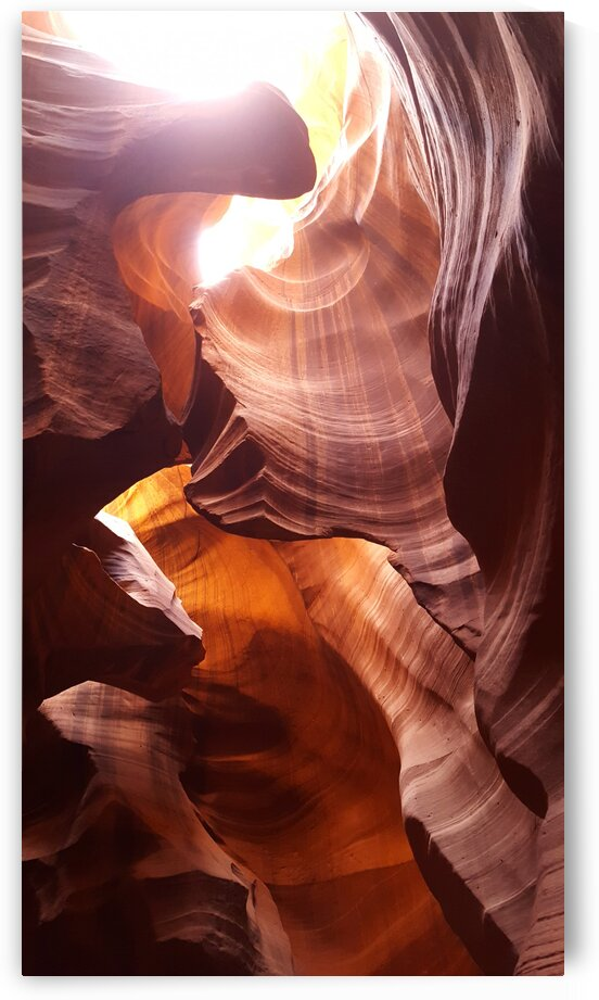 Antelope Canyon at Midday by Creative Endeavors - Steven Oscherwitz