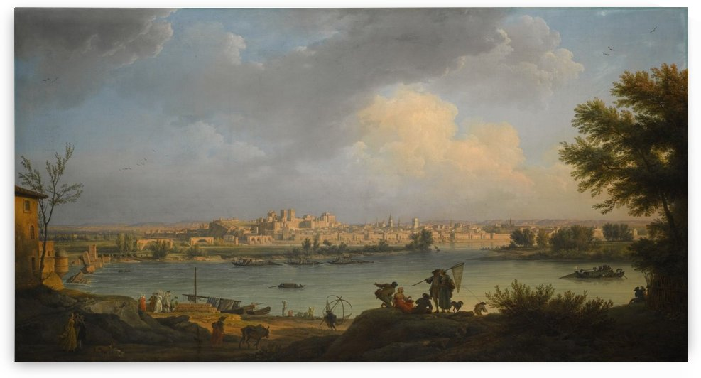 View of Avignon by Claude-Joseph Vernet