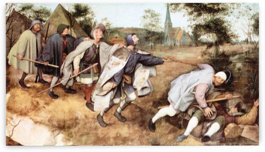 Parabal of the blind men by Pieter Bruegel by Pieter Bruegel