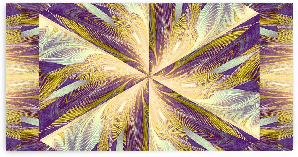 Wildflower In Spiral 2 by Sherrie Larch