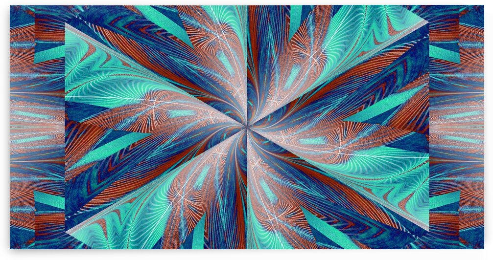 Wildflower In Spiral 6 by Sherrie Larch