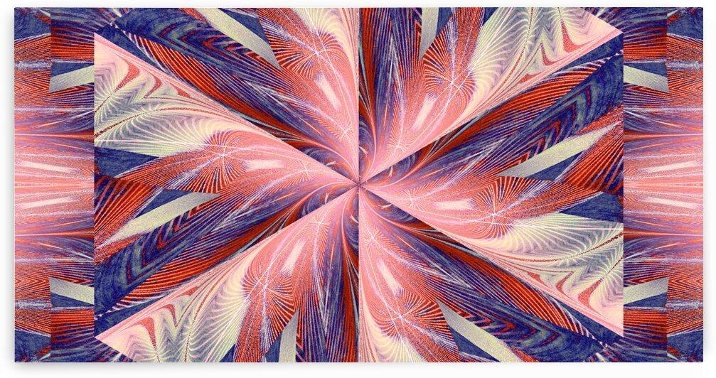 Wildflower In Spiral 7 by Sherrie Larch