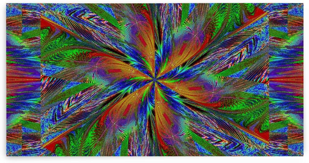 Wildflower In Spiral 12 by Sherrie Larch