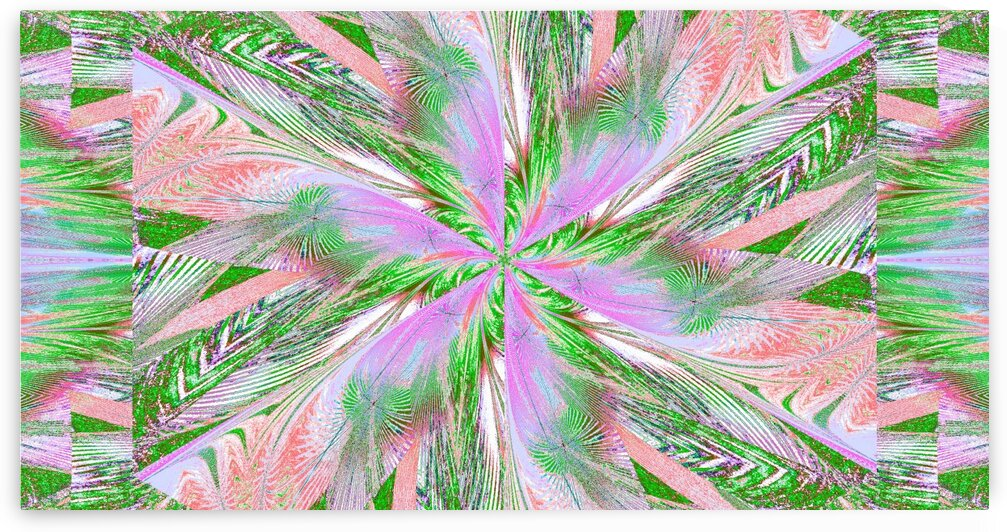 Wildflower In Spiral 14 by Sherrie Larch
