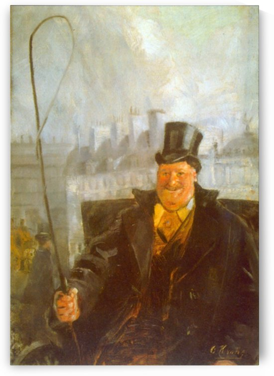 Paris Cab Driver by Krohg by Krohg