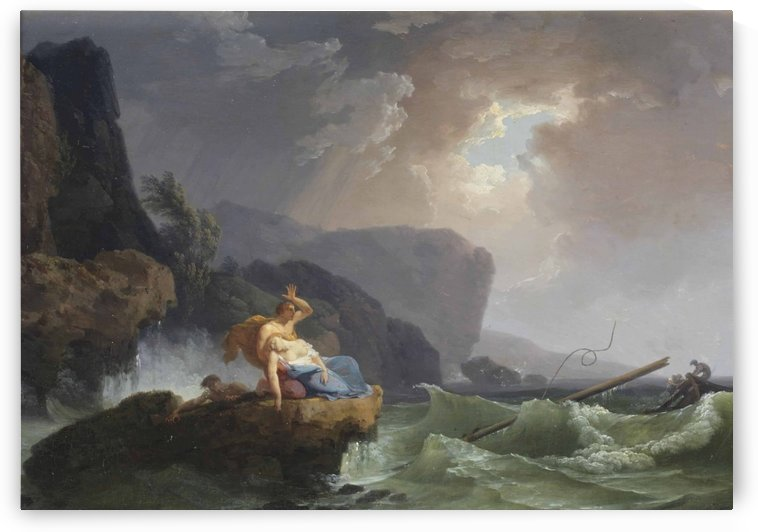 The castaways by Claude-Joseph Vernet