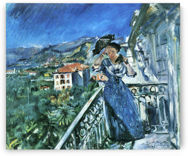 In Bordighera by Lovis Corinth by Lovis Corinth