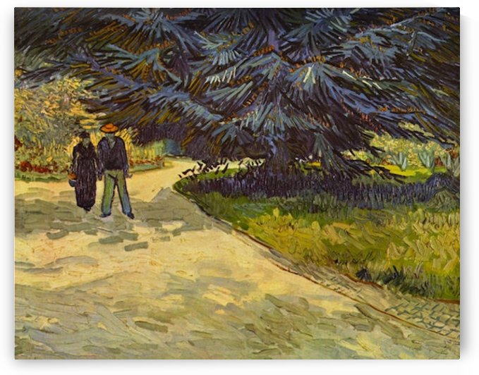 Park Arles by Van Gogh by Van Gogh