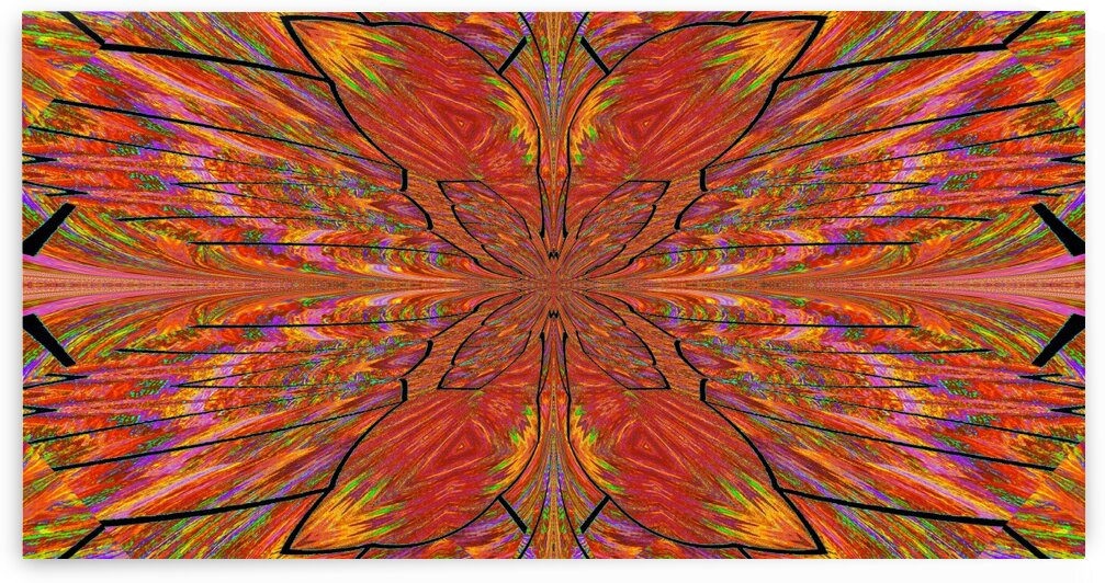 Light Fraction Summer Butterfly by Sherrie Larch