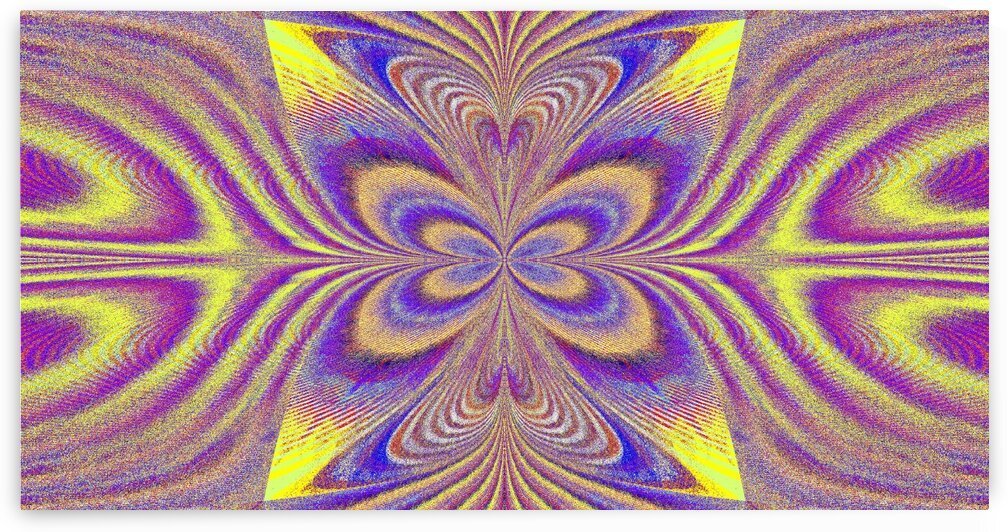 Disco Butterfly 6 by Sherrie Larch