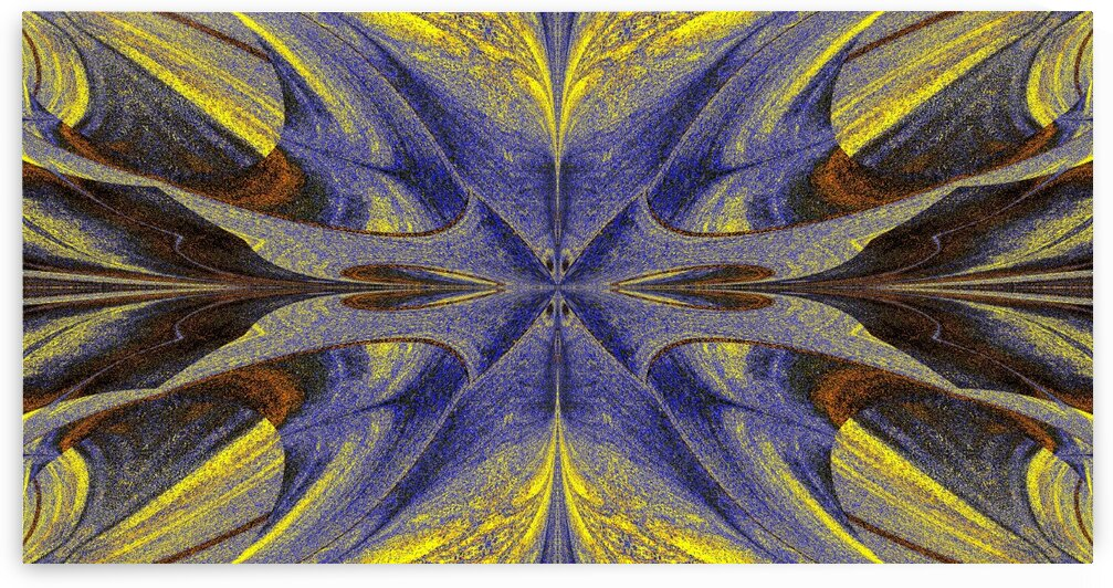 Butterfly Of Saturn 9 by Sherrie Larch