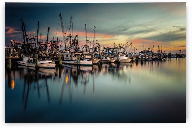Marina Boats sunrise by Mark Daniels