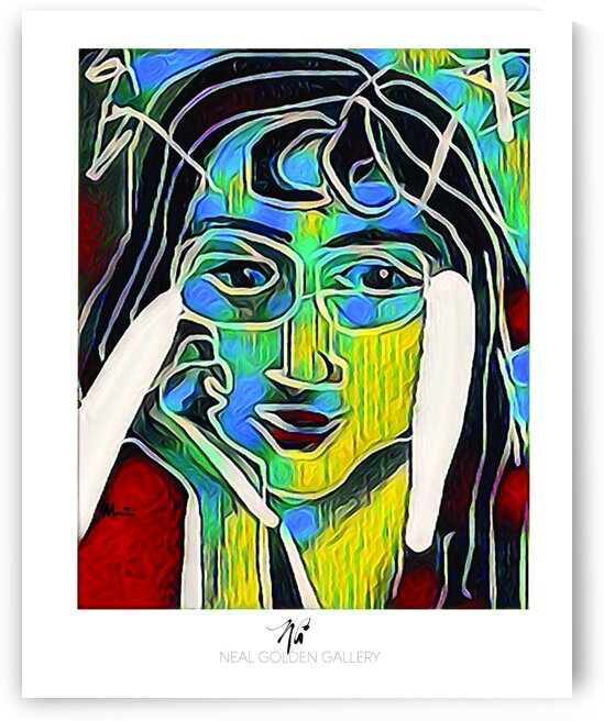 Picasso Girl Friend 200 by Neal Golden