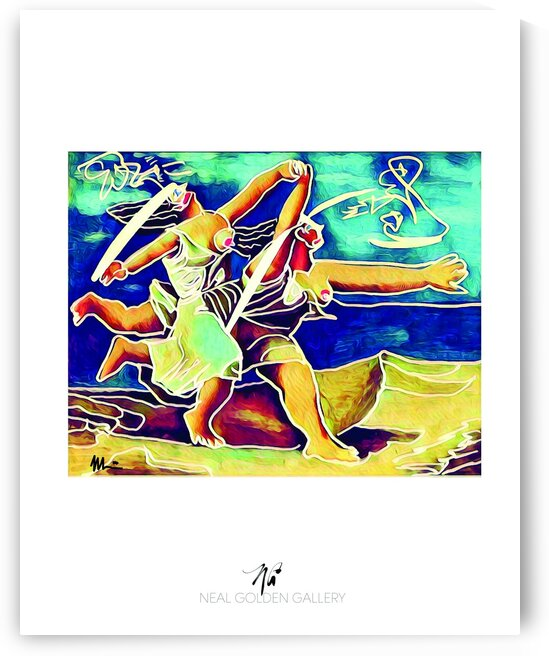 Picasso Bathing Girls 108 by Neal Golden