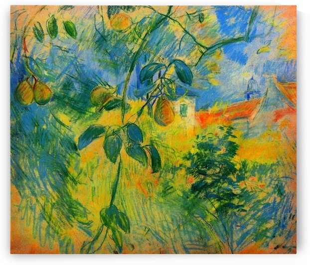 Pears by Morisot by Morisot