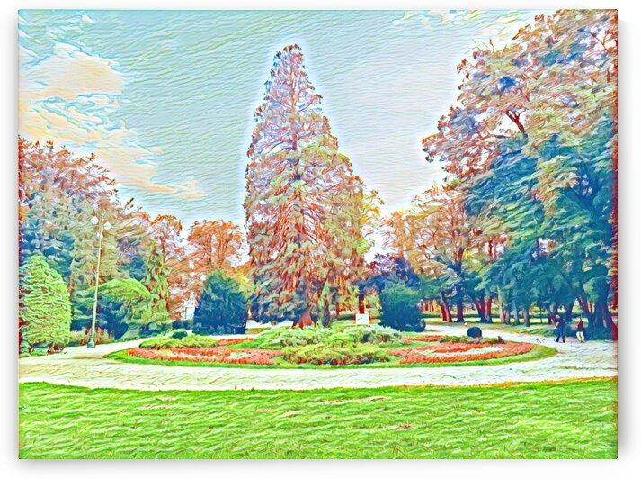 Garden Childhood by Ferenc Lengyel