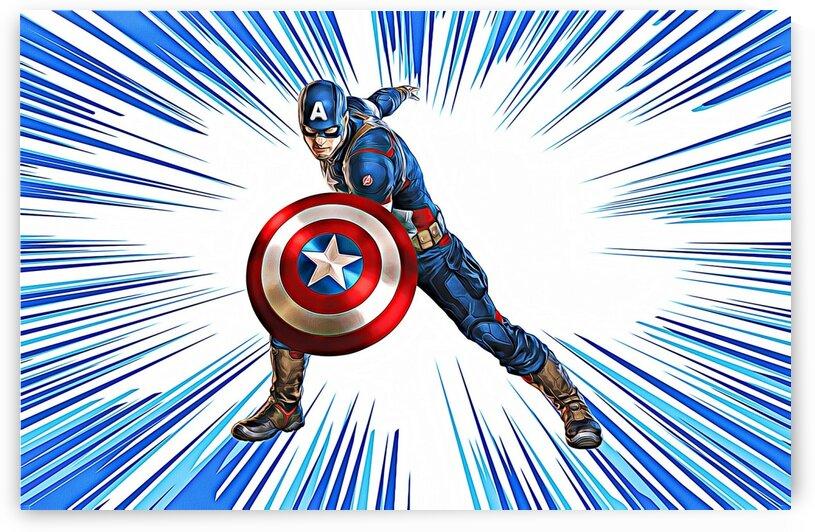 Captain America by Bob Frase