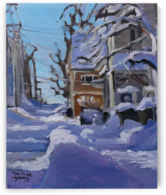 Charlottetown Winter Scene by Darlene Young