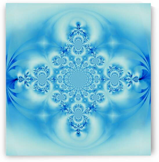 Sky Blue Scarab 4 by Sherrie Larch