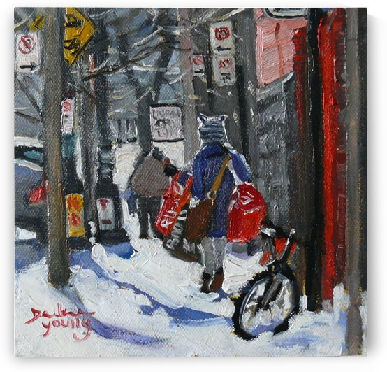 McGill Ghetto, Laundry Day by Darlene Young