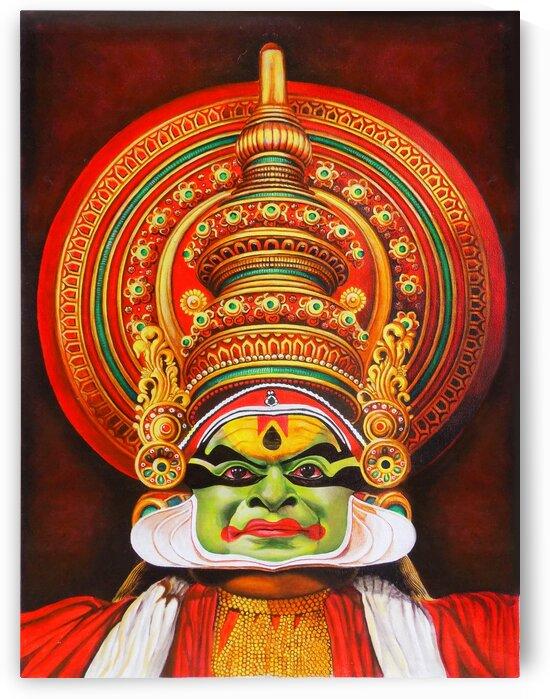 KATHAKALI THE KERALA DANCE ART by ASP ARTS