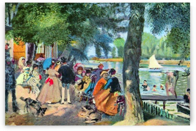 A group by Pierre Auguste Renoir