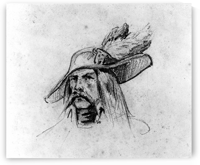 Head of a Soldier by Antoine Charles Horace Vernet