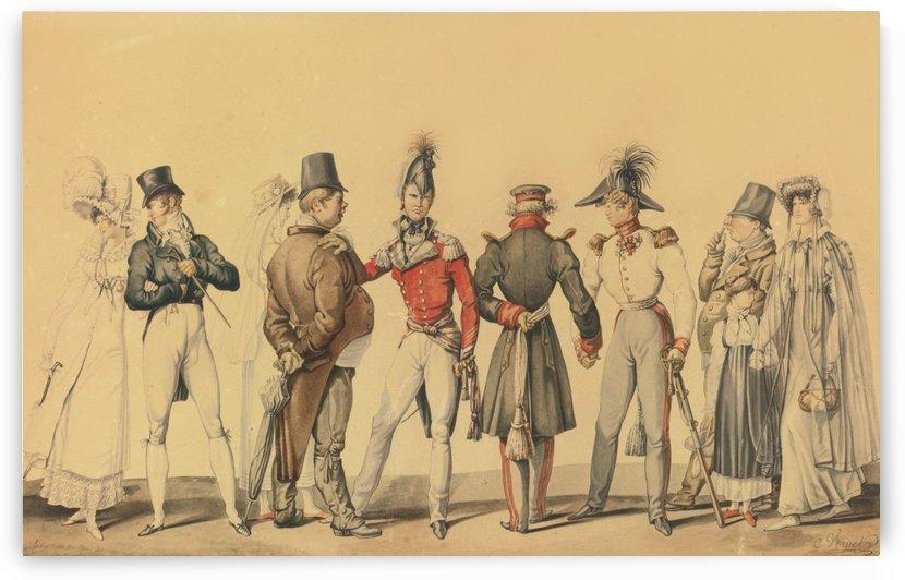 The Allies in Paris by Antoine Charles Horace Vernet