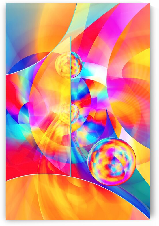 4th Dimension -Abstract Art XVII by Art Design Works