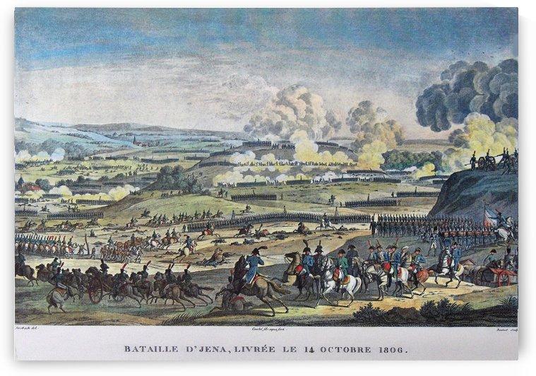 Battle of Jena by Antoine Charles Horace Vernet
