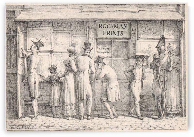 Rockman prints by Antoine Charles Horace Vernet