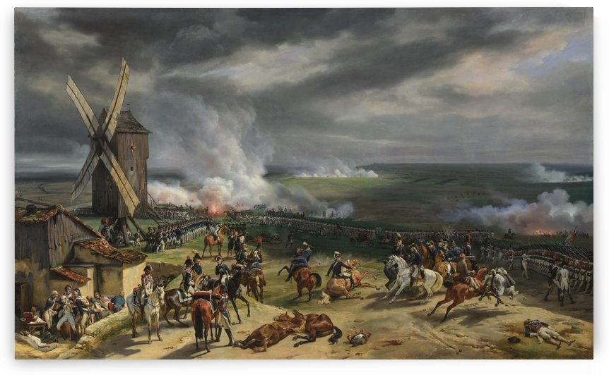 Battle of Valmy by Antoine Charles Horace Vernet
