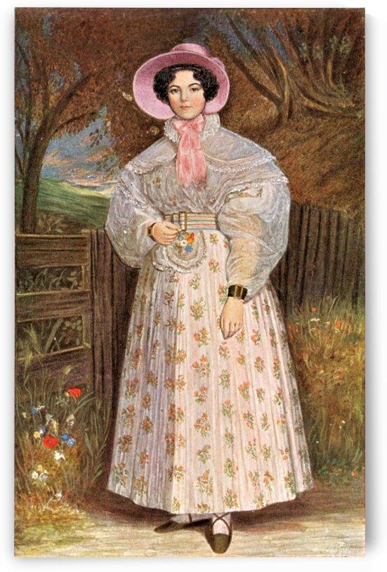 Madame de Mirbel by Charles Emile Callande de Champmartin