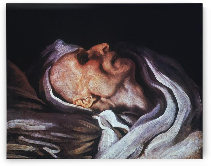 Study of a head of a corpse by Charles Emile Callande de Champmartin