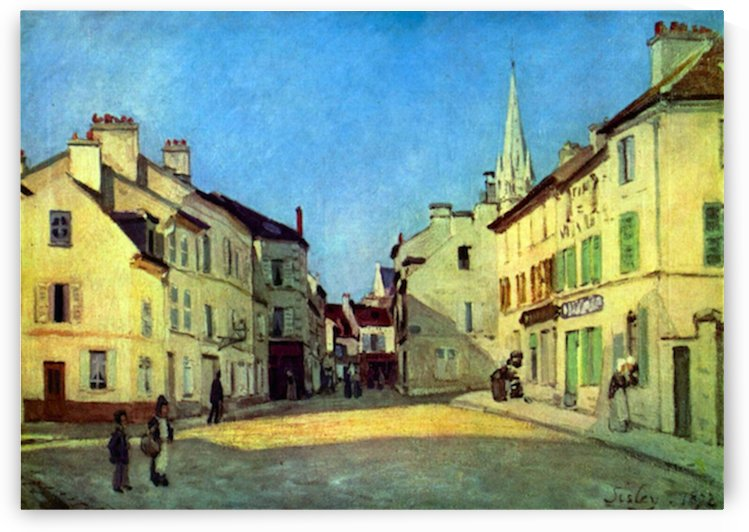 Place at Argenteuil by Sisley by Sisley
