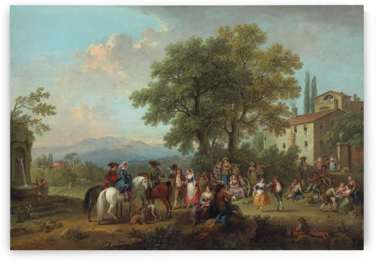 The country wedding by Francesco Zuccarelli