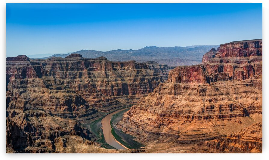 Grand Canyon and Colorado River by Bobby Twilley Jr