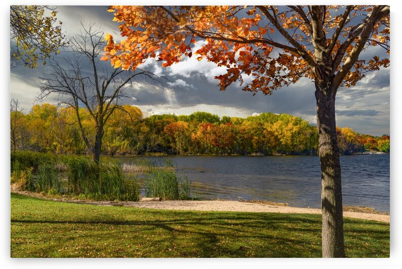 Fall Color - 2028 by James Radford
