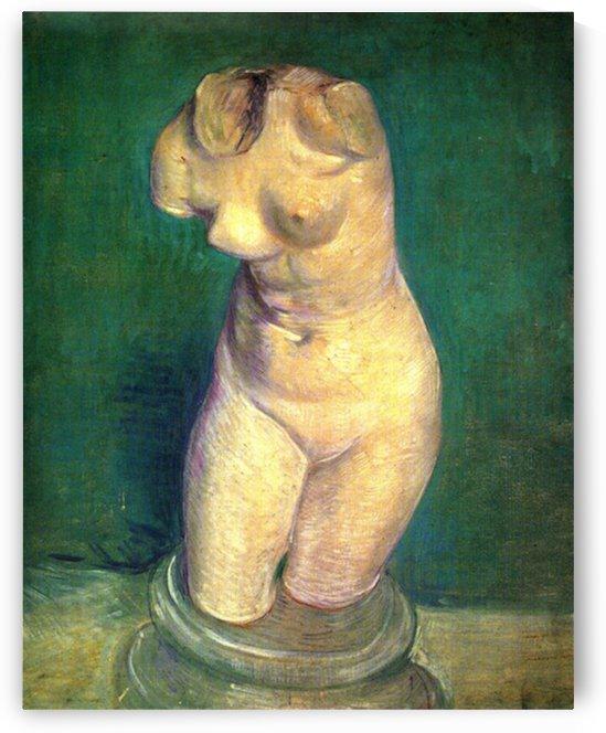 Plaster Statuette of a Female Torso6 by Van Gogh by Van Gogh