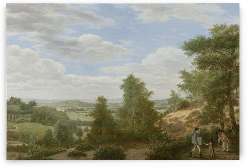 Gezicht op de vlakte van Montmorency bij St Leu, 1808 by Pieter Rudolph Kleijn