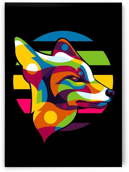 The Fox Inside by wpaprint