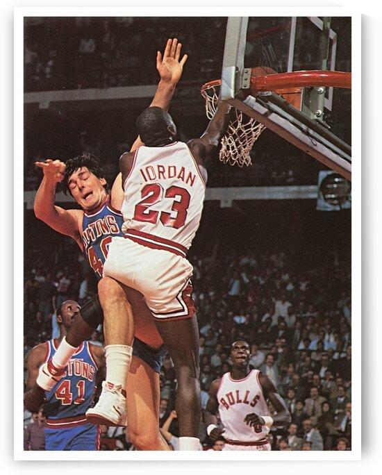 1985 Chicago Bulls Jordan Dunk by Row One Brand