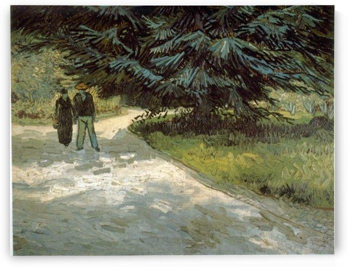 Poets Garden III by Van Gogh by Van Gogh